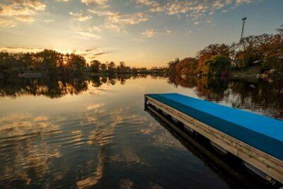 Gregory Harp Local Photographer Sunset Blue Dock