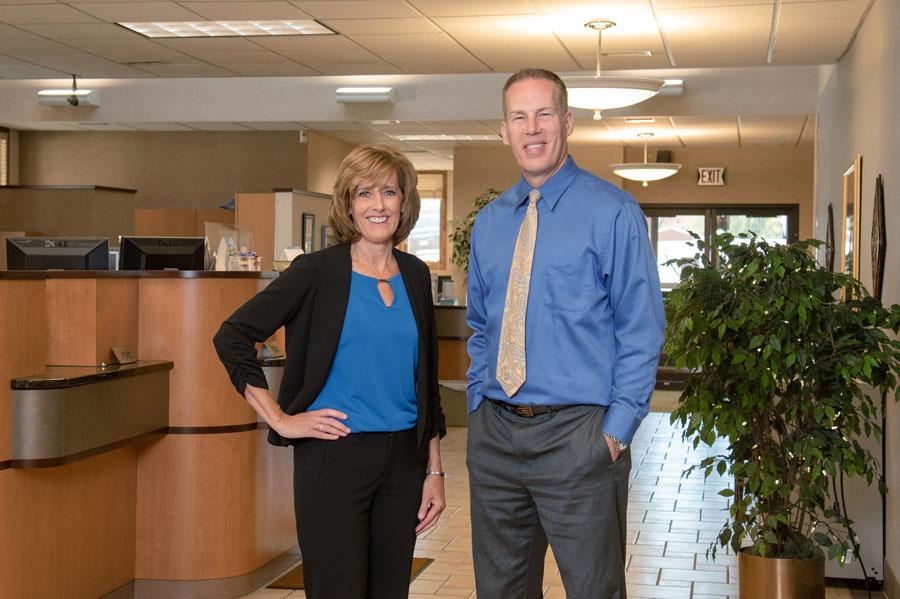 Pam And Michael At Lake Region Bank