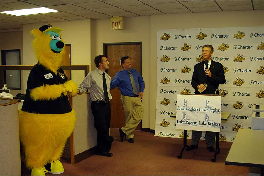 We've been a proud sponsor of the Stingers baseball team since its inaugural season in 2010