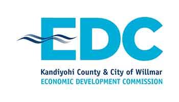 Kandiyohi County And City Of Willmar Economic Development Commission Logo