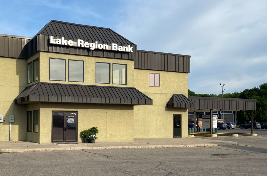 Lake Region Bank Willmar Branch Location Building