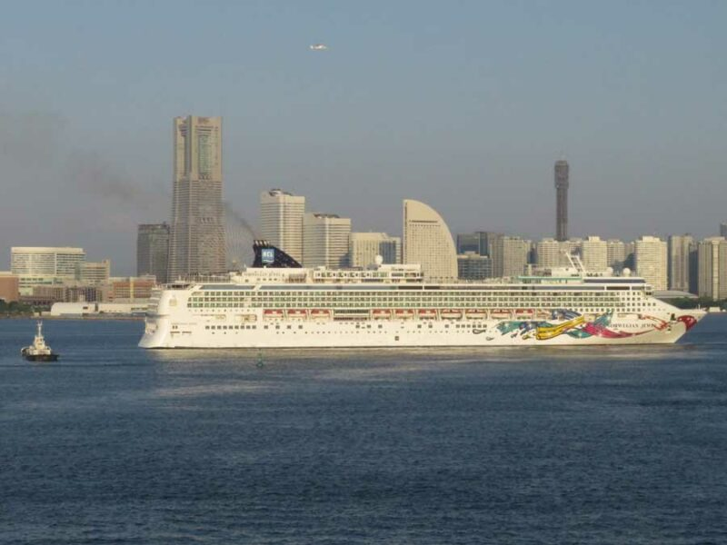 Cruise Ship From Japan Trip