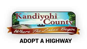 Kandiyohi County Adopt A Highway Logo