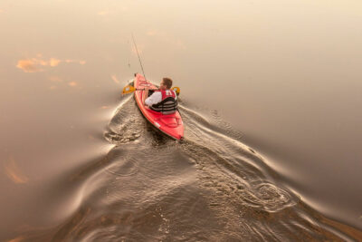 Gregory Harp Local Photographer Red Kayak Crop