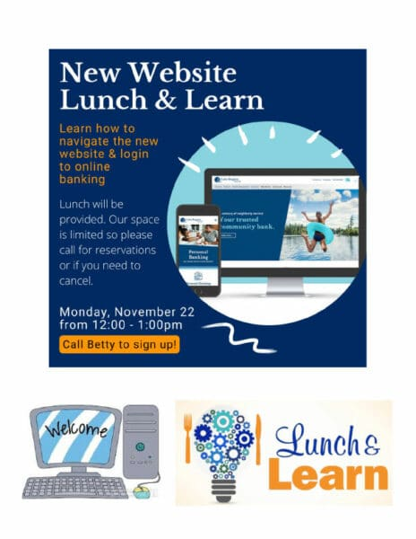 New Website Lunch And Learn November 22 From 12pm To 1pm