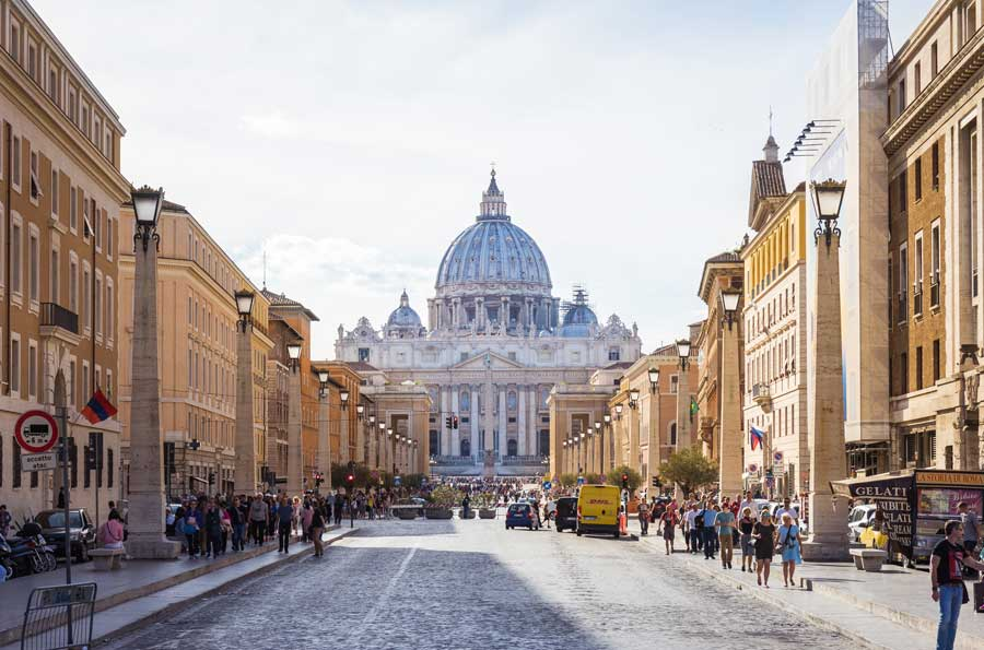 Rome City Street Fall 2022